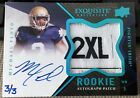 2012 Upper Deck Exquisite Football Rookie Autograph Patch Visual Guide 39