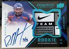 2012 Upper Deck Exquisite Football Rookie Autograph Patch Visual Guide 44