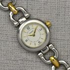 Coach Womens Watch Two Tone Stainless Steel ~ Swiss Made Quartz Movement ~ Works