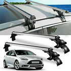 48 Car Top Luggage Roof Rack Cross Bar Carrier Adjustable Window Frame W Lock
