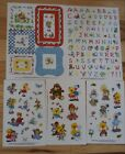 Suzys Zoo stickers 5 sheets Alphabet Frames Amimals