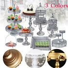 Wedding Plates Party Cake Stands Birthday Holder Cupcake Tower Crystal Display
