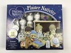 Precious Moments Plaster Christmas Nativity Plaster Figurines Ready To Paint
