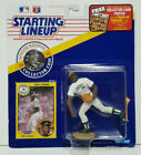 DAVE STEWART Starting Lineup MLB SLU 1991 Action Figure, Coin & Card OAKLAND A's
