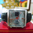 TAG HEUER MONACO CAW211B GRAY DIAL AUTO CHRONO LIMITED EDITION 39MM WATCH