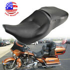 Two Up Driver Rider Passenger Seat For Harley Electra Glide FLHT FLHTC 1997 2007