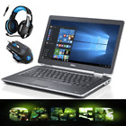 FAST GAMING LAPTOP Core i5 DELL LATITUDE Intel 25 GHz 141 Screen UPTO 1TB HDD