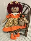 PRiMiTiVe FoLk ArT RaGGeDy Ann DoLL / Welcome Fall Annie