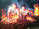 Tenacious D  signed poster for Rize of the Fenix  autographed w/cd Jack Black