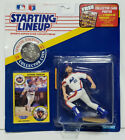 HOWARD JOHNSON Starting Lineup MLB SLU 1991 Action Figure, Coin
