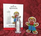 HALLMARK 2014 SERIES ORNAMENT #1~'TIS THE SEASONING~MILK & COOKIES