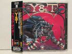 Y&T - Black Tiger 1982/95 A&M Records Japan Edition OBI Rare OOP HTF Hair Metal