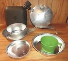 Vintage Boy Scout Canteen Mess Kit and Water Container