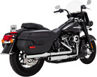 VANCE AND HINES 3 ELIMINATOR 300 SLIP ON MUFFLERS 2018 2019 HERITAGE SOFTAIL