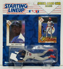 RAY LANKFORD Kenner Starting Lineup MLB SLU 1993 Action Figure & Cards CARDINALS