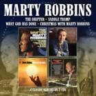 MARTY ROBBINS: DRIFTER/SADDLE TRAMP/ WHAT GOD HAS DONE (CD)