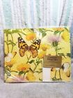 NIP Vtg CURRENT Gift Wrapping Paper LINDA K POWELL Butterflies 2 Sheets w Cards
