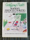 Modern French Cooking SIGNED Wolfgang Puck 1st Ed Hardcover