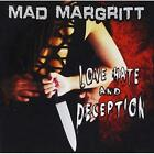 Love Hate and Deception Mad Margritt CD
