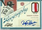 ROBERTO ALOMAR PANINI PRIME CUTS BIOGRAPHY SIGNATURES JERSEY AUTO PATCH SP 25