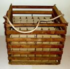 Antique Farm House Wooden EGG CRATE/CARRIER Holds 9 Dozen Eggs