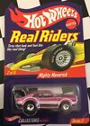 Rare Hot Wheels Real Riders Series Mighty Maverick Diecast Car Pink W Redlines