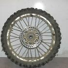 95 KAWASAKI KX125 REAR BACK WHEEL RIM W/ DISC