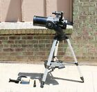 Meade DS2114ATS Computerized Refractor Telescope  Tripod Remote Extra Lenses