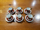 Vintage China Coffee Espresso Set Made In GDR Germany Madonna Patern