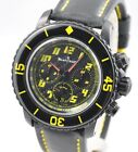 BLANCPAIN Fifty Fathoms Chronograph 5785F Flyback Carbon Black Yellow 45mm GREAT
