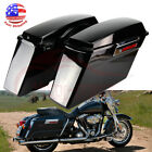 ABS Hard Saddlebags Saddle Bags For Harley Road King FLHR Ultra Classic 1994 13