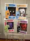 Funko pop uglydoll sdcc 2012 lot brend new, never out of box!!!!