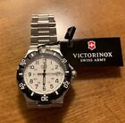 Victorinox Swiss Army Summit XLT Stainless Steel Watch 24004  New With Tags