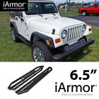 AMS Jeep Off Road Side Steps Armor For 87 06 Jeep Wrangler TJ YJ Running Borads