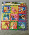 Disney My Friends Tigger  Pooh Childs Toy Foam 9 Play Mat Puzzle NEW