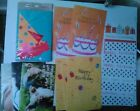 8 BIRTHDAY INVITATIONS CARD SET  12 LOOSE B DAY GREETING CARDS