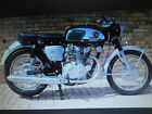 HONDA CB450 - BLACK BOMBER / OWNER'S MANUAL / LIKE NEW CONDITION. NOT CYB-WEBCO