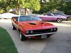 1970 Plymouth Barracuda 1970/1971 Viper Red Convertible Barracuda Automatic, with 340 Six Pack