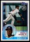 2018 Topps 83 Topps Silver Pack Chrome 101 Ronald Acuna Jr