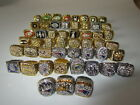 51 PCS 1966 Packers To 2016 New England Patriots Championship Ring Set Fan Gift