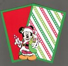 Disney Christmas Mickey Mouse Die Cut with 2 Photo Mats 4 x 6