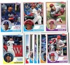 2018 Topps Update 1983 Anniversary 50 Card Complete Set - Soto, Acuna, Ohtani!!!