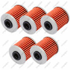 5X Oil Filters HF207 For Beta EVO Kawasaki KX250F Suzuki RMZ250/250L RMZ450/450Z