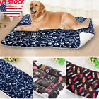 Cute Pet Dog Cat Bed Cushion Mat Pad Kennel Crate Cozy Warm Soft House S XL