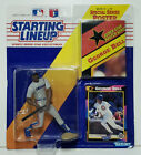 GEORGE BELL - Starting Lineup SLU MLB 1992 Figure, Poster & Card - CHICAGO CUBS