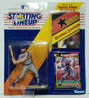 HOWARD JOHNSON Starting Lineup SLU MLB 1992 Figure, Poster & Card NEW YORK METS