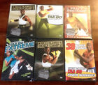 NEW Lot of 6 Billy Blanks DVDs Boot Camp Tae Bo Power Rounds NIP