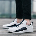Mens Casual Leather Sport Shoes Athletic Sneakers Run Breathable Lace up Mix C1