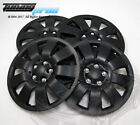 Hubcap 14 Inch Wheel Rim Skin Cover 4pcs Set Matte Black Style 721 14 Inches