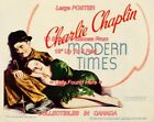 MODERN TIMES 1936 Charlie Chaplin P GODDARD  POSTER 10 Sizes 18 Up To 5 FEET